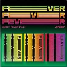ATEEZ 5th Mini Album Zero Fever Part 1 (Incl. Pre-Order Benefit (Folded Poster), Random ATEEZ Acrylic Photocards Set) (Set...