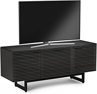 BDI 8177 CRL Corridor Triple Wide TV Stand & Media Cabinet, Charcoal Stained Ash