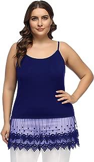 Hanna Nikole Plus Size Women's Lace Camisole Shirt Extender HN57