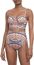Kenneth Cole REACTION Women's Underwire Midkini Hipster Bikini Swimsuit Top