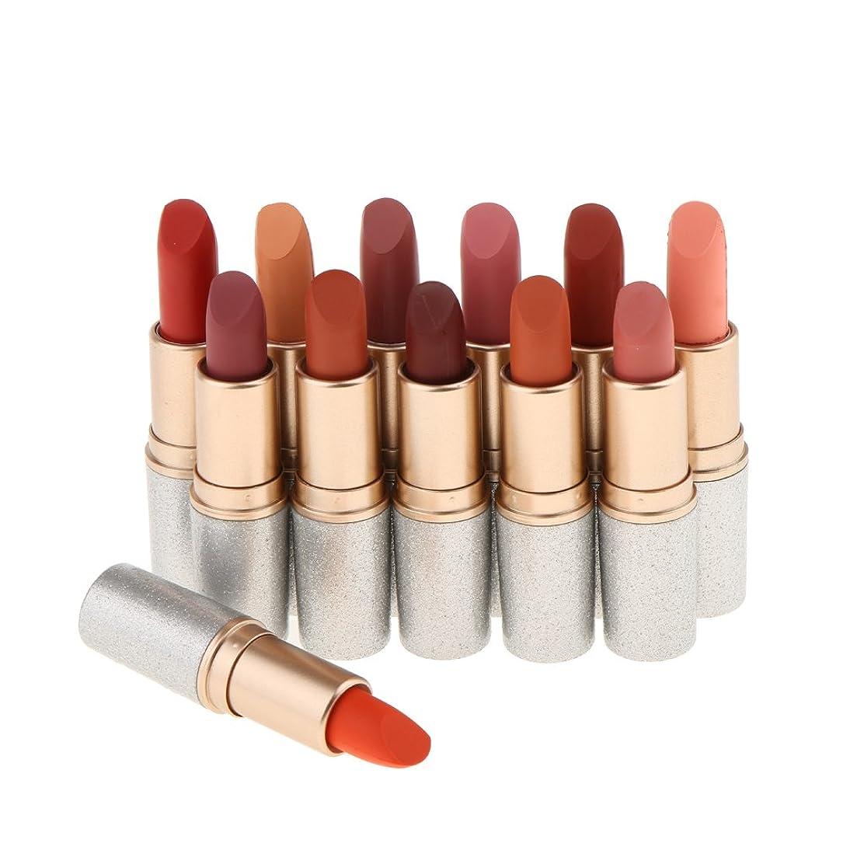 ベルベット投げるリベラルベルベットマット 口紅 マット リップスティック 化粧品 12色