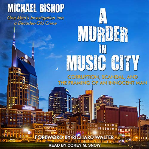 A Murder in Music City audiobook cover art