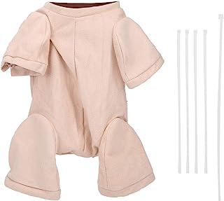 LFLF Poupée en Tissu De Poupée Poupée Tissu Tissu Tissu Accessoire pour 3/4 Bras Et 3/4 Jambes222 Pouce Renaître Bébé