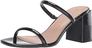 BCBGeneration Women's Tatiana Block Heel Mule Heeled Sandal