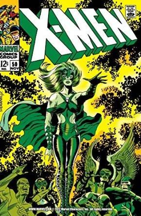 X-Men Comic 50 Nov 1968 (City of Mutants)