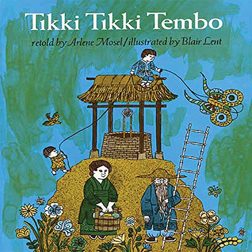 Tikki Tikki Tembo audiobook cover art