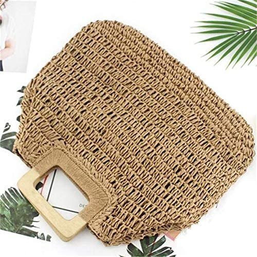 Special price Shoulder Ranking TOP9 Bags Handmade Straw Handbags Summer Lady for Larg Purse