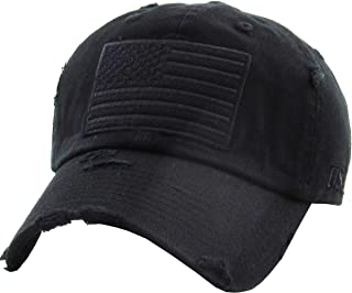 Tactical Operator Collection with USA Flag Patch US Army Military Cap Fashion Trucker Twill Mesh