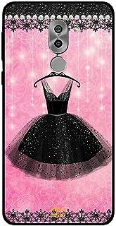 Honor 6X Case Cover Black Hanging Dress, Moreau Laurent Premium Phone Covers & Cases Design