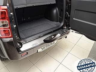 Rear Bumper Scuff Protection Plate Guard Sill Trim Protector Stainless SteelTrim for Suzuki Grand Vitara 3D 5d 2005-2017
