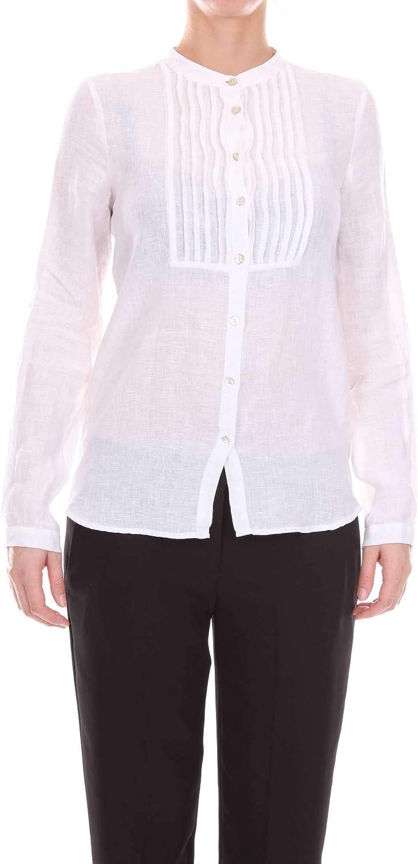 JECKERSON Women's CA20XT217910001 White Cotton Shirt