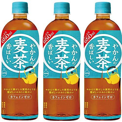 コカ・コーラ 一(はじめ) やかんの麦茶650mlPET ×3本