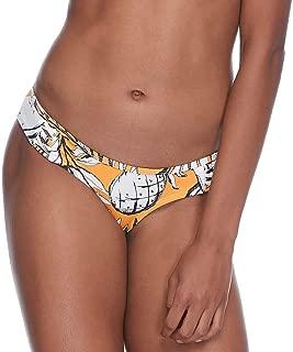 EIDON Women's Rebel Bikini Bottom Swimsuit with Front Strappy Detail