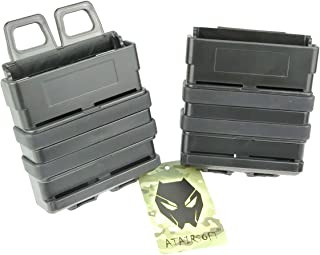 ATAIRSOFT Airsoft Fast Mag Magazine Pouch Holder Pouch Set 7.62 Molle System