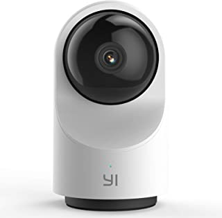 YI Smart Dome Security Camera X, AI-Powered 1080p WiFi IP Home Surveillance System with 24/7 Emergency Response, Human Det...