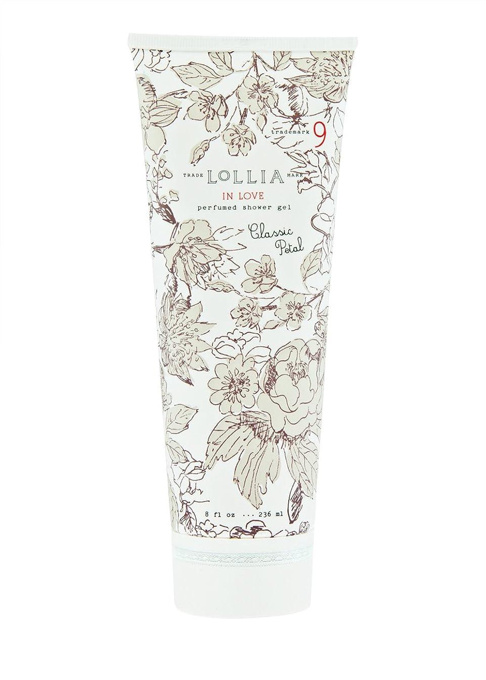 立証する騒ぎ仲間ロリア(LoLLIA) パフュームドシャワージェル InLove 236ml(全身用洗浄料 ボディーソープ アップルブロッサム、ジャスミン、ローズのフルーティで爽やかな香り)
