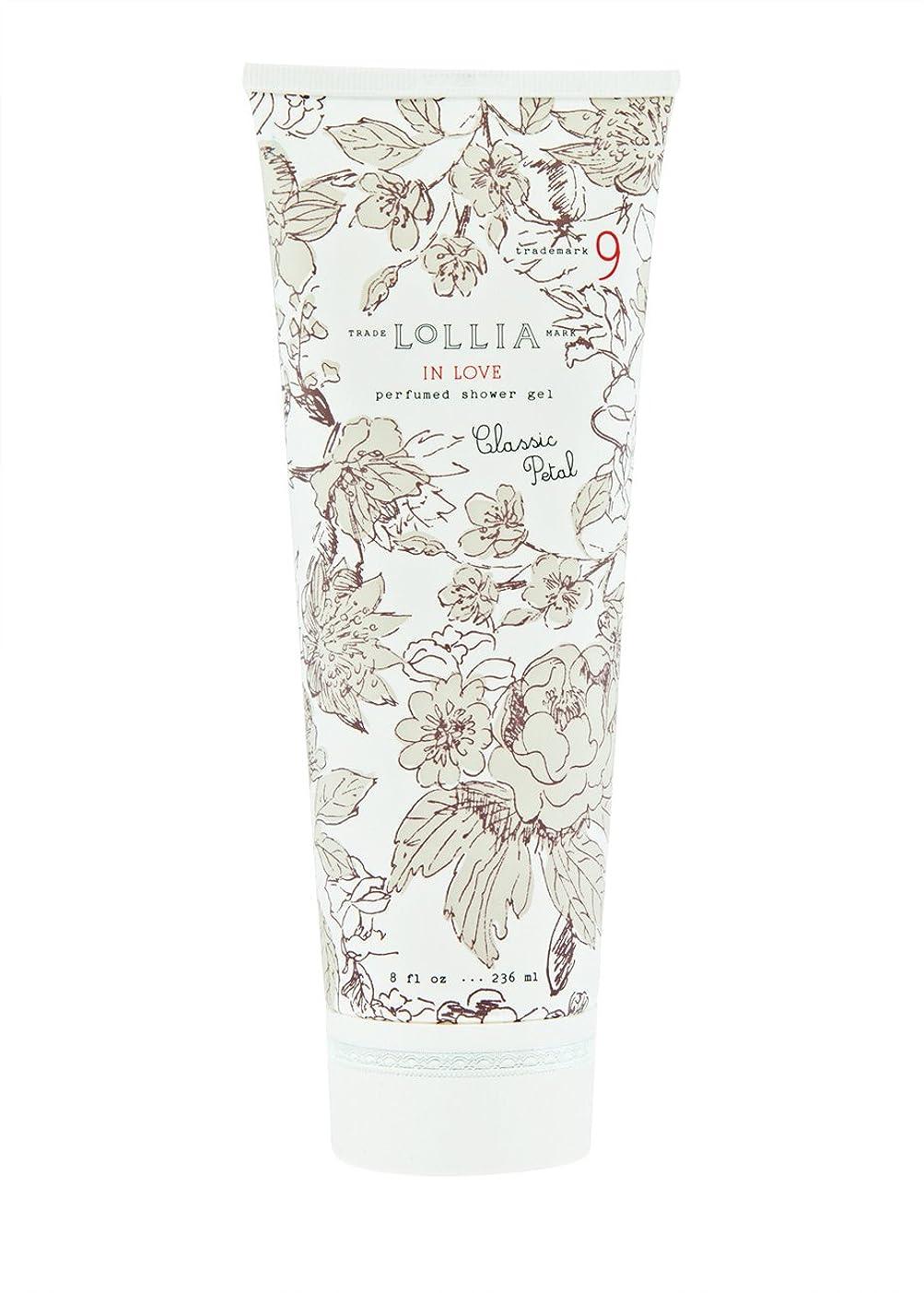 明らかにするタックル例示するロリア(LoLLIA) パフュームドシャワージェル InLove 236ml(全身用洗浄料 ボディーソープ アップルブロッサム、ジャスミン、ローズのフルーティで爽やかな香り)