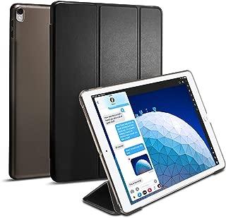 Spigen Smart Fold Designed for iPad Air 3 Case (10.5 inch 2019), iPad Pro 10.5 Case (2017) - Black