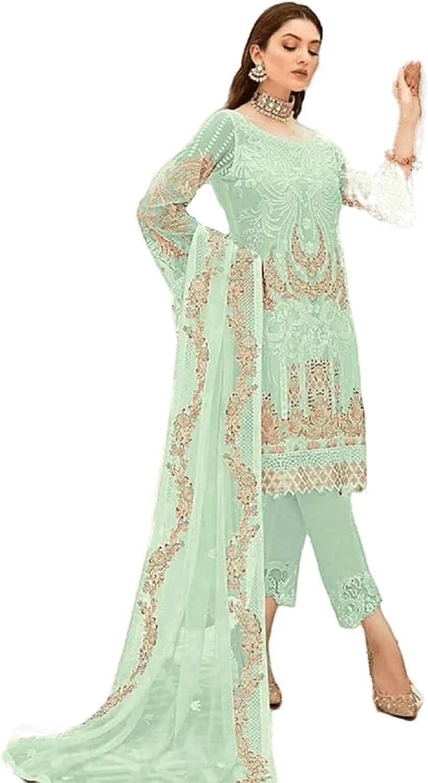 South Asian Designer Trouser Pant Suit Ready to Wear Salwar Kameez Dress for Women Wear