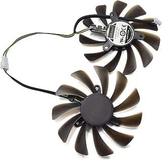 DIY Ventilador de Refrigeración de Repuesto Graphics Card Fan para ZOTAC GeForce GTX 1080 Ti AMP Edition GPU ZT-P10810D-10P