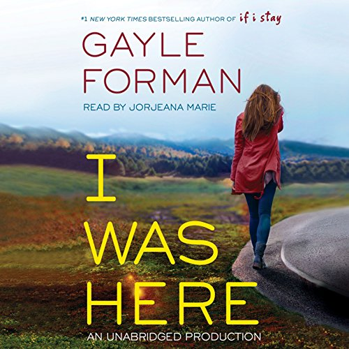 I Was Here audiobook cover art