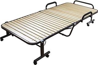 アイリスオーヤマ ベッド 折りたたみベッド すのこベッド シングル 収納  ナチュラル OTB-WH