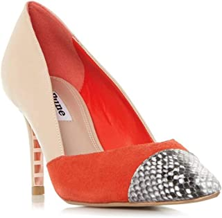 Dune London Metallic Tip Court Shoe E37