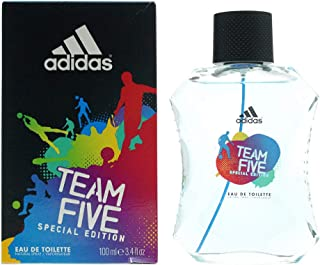 Adidas Team Five Eau de Toilette for Men, 100ml