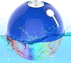 Schwimmend Bluetooth Lautsprecher, IPX7 wasserdichte Poollautsprecher mit..