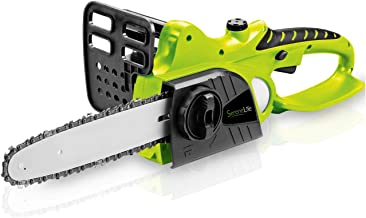 SereneLife Cordless Chainsaw – 18V Electric Home Garden Chain-Saw Cutter with..
