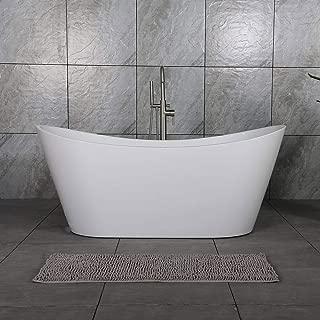 deep clawfoot tub