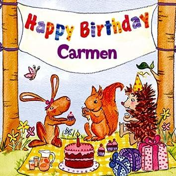 Happy Birthday Carmen