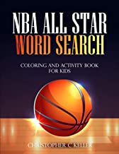 NBA All Star Word Search: Coloring and Activity Book for Kids