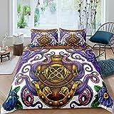 Loussiesd - Manta para sofá de viaje, diseño personalizado, manta de felpa para decoración de dormitorio, aire acondicionado, tamaño King 200,7 x 228,6 cm