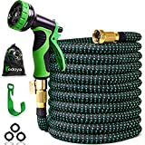 100 ft Expandable Garden Hose,100 Feet Leakproof Lightweight Garden Water Hose with Spray...