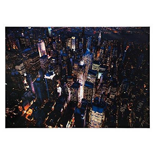 78¾ x 55 in. Aluminum IKEA PREMIÄR Picture - City Lights, New York: Jason Hawkes