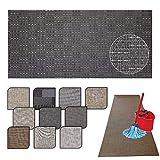 Tappeto passatoia Cucina Lavabile Lucy - antimacchia e Antiscivolo aderisce Perfettamente a Terra Non Piega Si pulisce con straccio - tappeti casa Moderno (50X240, 32)