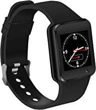 LAHYXAL Smart Watch Touchscreen Bluetooth Smartwatch Fitness Tracker Sport Watch with Camera SIM SD Card Slot Pedometer Compatible iPhone iOS Samsung Android Phones for Women Men Kids (Black)