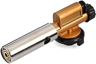 803 Metal encendido electrónico cobre Llama quemadores de gas butano soplete pistola eléctrica, para al