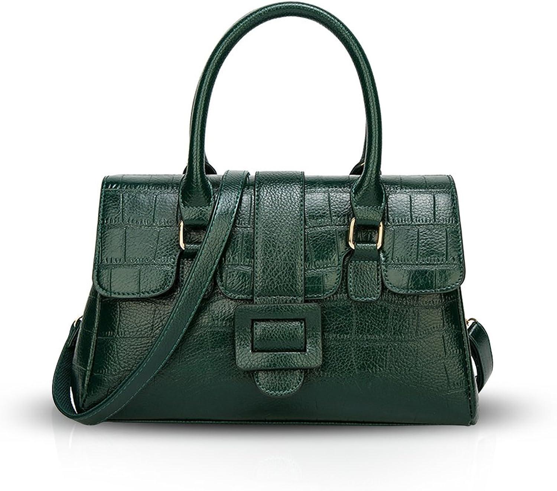 NICOLE & DORIS Woman Handbag Totes Top Handle Shoulder Bag Classic Crossbody Crocodile Pattern