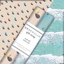 Gray Malin The Beach Birthday Gift Wrap Set