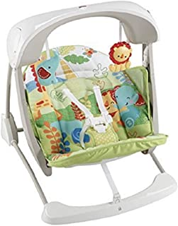 Fisher-price Rainforest Friends Take-along Swing And Seat