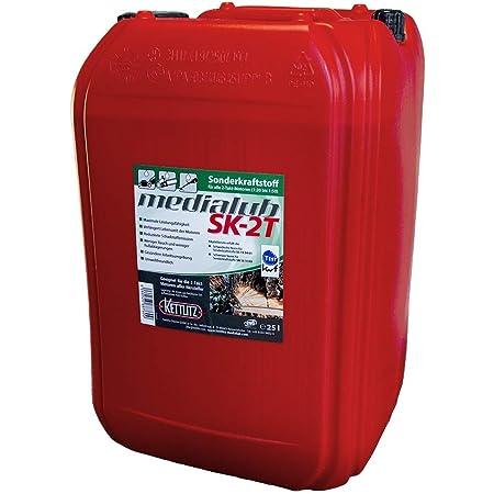 25 Liter Kettlitz Medialub Sk 2t Alkylatbenzin Für 2 Takt Zweitaktmotoren Kwf Geprüft Baumarkt