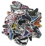 ZJJHX Tide Brand Shoes Jordan AJ Calcomanías Personalizadas Equipaje Impermeable Maleta Pegatinas Graffiti Balance Car Skateboard Pegatinas Decorativas 100 Hojas
