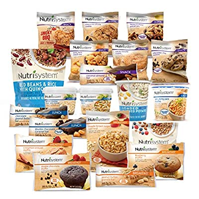 Nutrisystem? Flex 14 Day Weight Loss Kit, Includes Breakfasts, Lunches & Snacks for 14 Days, Perfectly Portioned for Weight Loss?