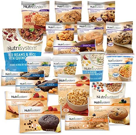 Nutrisystem Flex 14 Day Weight Loss Kit Includes Breakfasts Lunches Snacks for 14 Days Perfectly product image