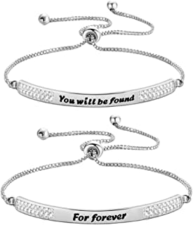 Zuo Bao Broadway Musical Theater Gift You Will Be Found for Forever Bracelet Dear Evan Hansen Musical Broadway Jewelry Theater Lover Gift