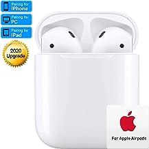 Bluetooth Headset 5.0,écouteurs sans Fil Bluetooth,3D Stéréo HiFi,Microphone intégré,écouteurs Bluetooth IPX5 étanche,couplage Automatique,Compatible avec Apple Airpods/Android/iPhone/Samsung/Huawei