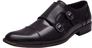 Sir Corbett Men's Synthetic Formal Monk Strap Shoes