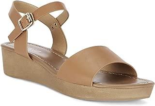 Ceriz Women's Colette Tan Wedge Sandals